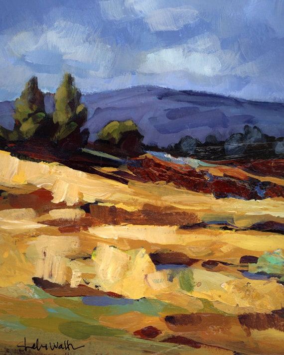 High Desert Landscape Original Painting