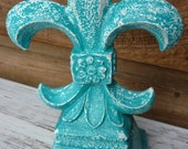 FLEUR de LIS French Shabby Chic Home Decor....Traditional Symbol...(Selected For Treasury)