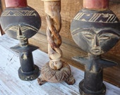 RESERVE Ms G8 Primitive Tribal Fertility Female Candle Holders........By Mountain Market FREE SHIPPING USa only.