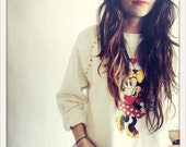 Studded Minnie Mouse Hipster Sweatshirt