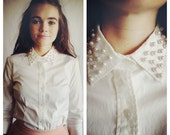 The Cotton Candy Collar Blouse