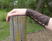 Leather Arm Guards, Soft and Flexible---Made Tor Order---Set Of Two
