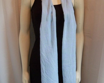 Light Blue Springy Scarf