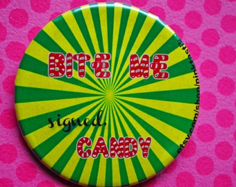 Starlight Candy pin back button
