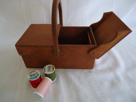 Reserved for Dana Wooden sewing box