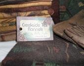 Destash  Creekside Trail Flannels by MODA 20 Fat Quarters