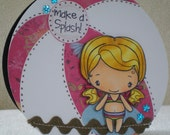 Make a Splash Beach Ball Handmade Card