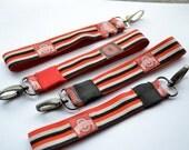 Ohio State Fabric Key Fob / Key Chain