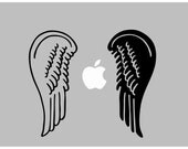 Angel wings decal: For Laptop, Car etc..