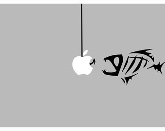 Gloomis Fish decal: For Laptop, Car etc..