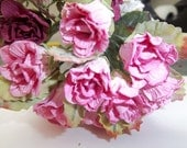 Mulberry Roses-1 inch rose pink