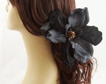 Black Magnolia Hair Stick Set