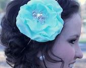 The Sara Marie- Tiffany Blue Bloom