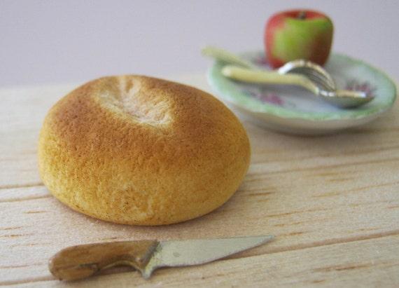 Farmhouse bread, round.
