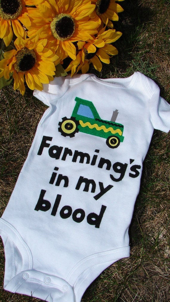 Future farmer tractor shirt or bodysuit......order any size
