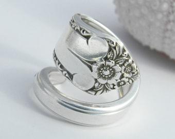 Silver Spoon Ring  - Starlight 1950