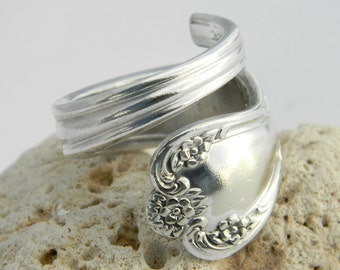 Silver Spoon Ring  - Daybreak aka Elegant Lady 1952