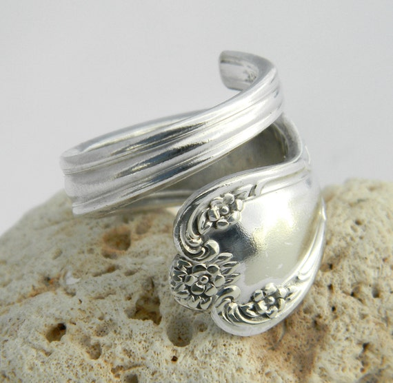 Silver Spoon Ring  - Daybreak aka Elegant Lady 1952