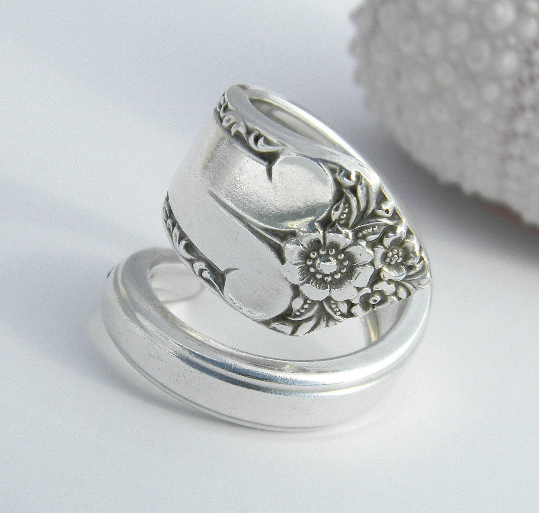 silver spoon ring starlight 1950