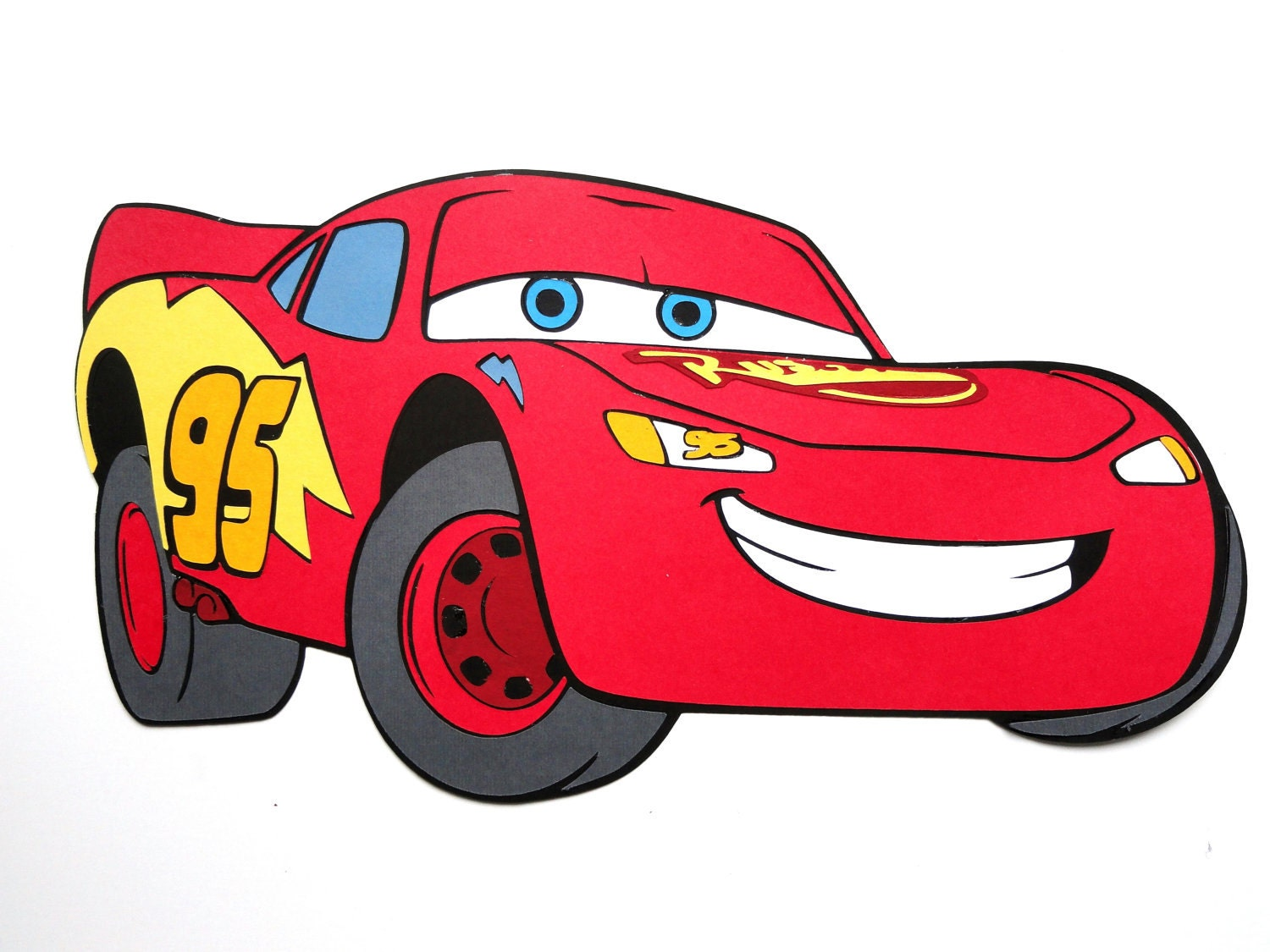 this item sold on october 9 2011 lightning mcqueen characters disney cars - Cars The Movie Lightning Mcqueen