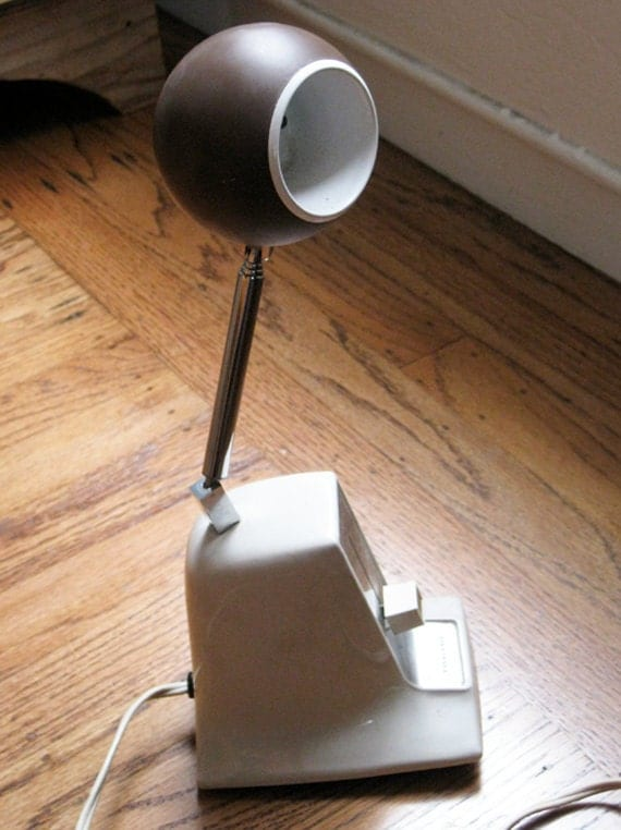 Reserved for Alicia///Vintage Panasonic Telescoping Desk Lamp