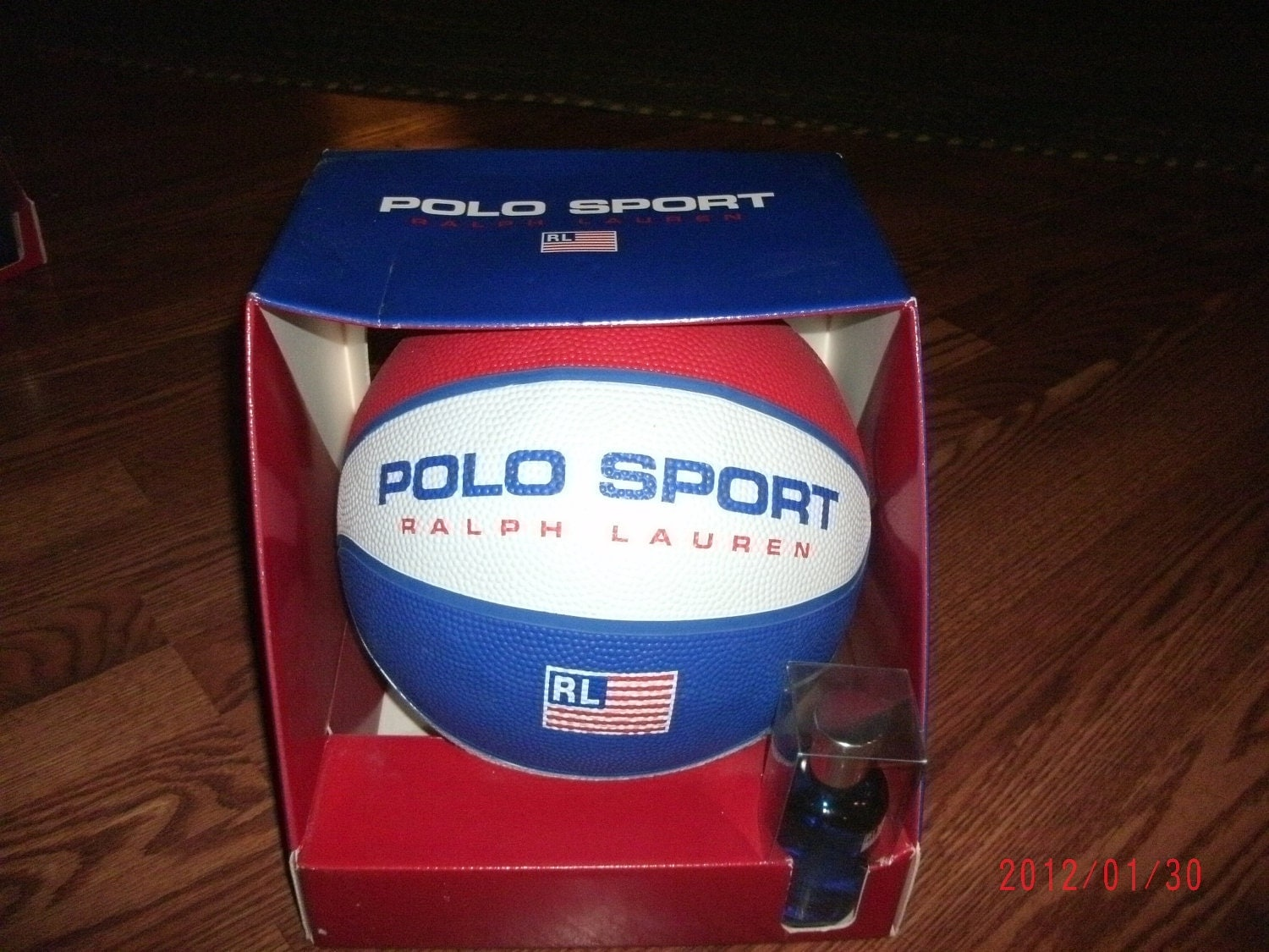 vintage rare polo sport ralph lauren basketball with spray new. Black Bedroom Furniture Sets. Home Design Ideas