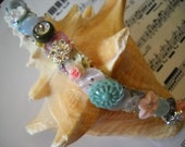 Beautiful Handmade Button Bead Bracelet