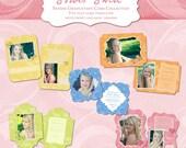 Sorbet Swirls Senior Graduation Collection - digital templates for photographers