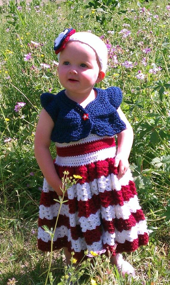 PATTERN Jade Glory Toddler/Child Crochet Summer
