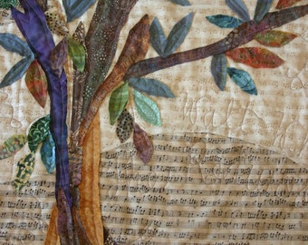 Tree of Life Quilt - Custom Designed