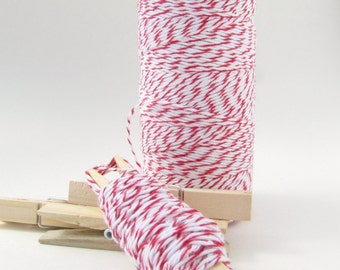 Red and White Bakers Divine Twine