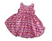 Children Clothing Summer Dress 4T Bubble Girls Dress Euro Boutique Ready to Ship OOAK