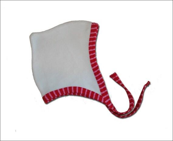 Baby Hat Girls Bonnet Velvet in 3 sizes toddler Hat Retro Euro Style Farbenmix