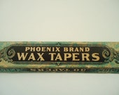 Fantastic Early 1900s Thin Wax Taper Candles