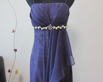 Elegant Silk Chiffon Party Dress
