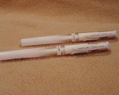 Set of 2 Uni-Ball Signo UM-153 White gel pens