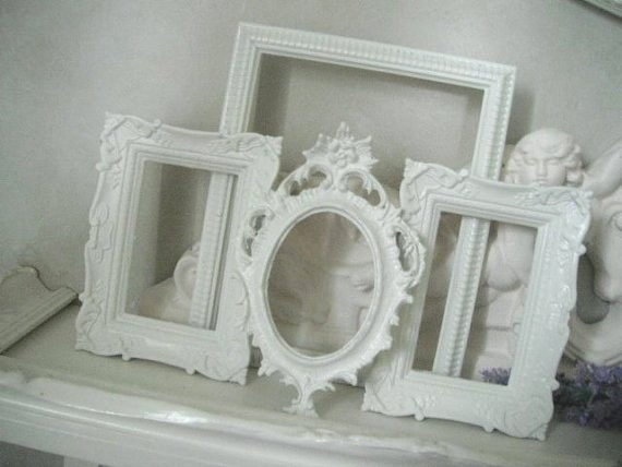 Chic picture Frames - 4 piece shabby road