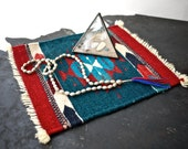 RESERVED......SALE Zapotec Small Rug