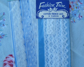 Vintage Lace French  NOS