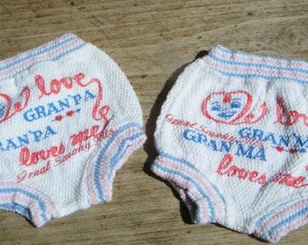 Diaper Covers Souvenir Novelty Gran'ma Gran'pa