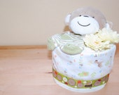 I Love Nature Diaper Cake