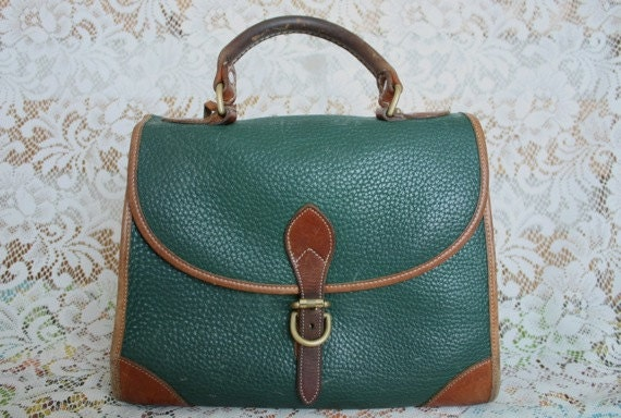 PRICE REDUCED - Vintage Dooney and Bourke Handbag