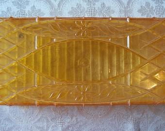 Vintage Orange Tissue Box