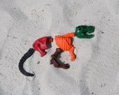 Dinosaur Fossil Crayons - T-Rex or Triceratops