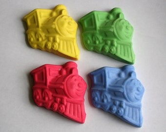 Large Choo Choo Train Sidewalk Chalk - Set of 4
