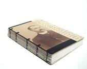 Journal, Antique Photo and Letter - Moustache Man - Antique Photo cover