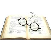 Eye Glasses - Vintage Spectacles - Thick dark frame - Home Decor