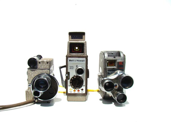 Home Movies - Vintage movie cameras - Instant Collection - Home decor