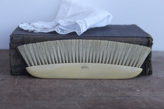 Vintage French Celluloid Lint Brush - Free shipping in USA
