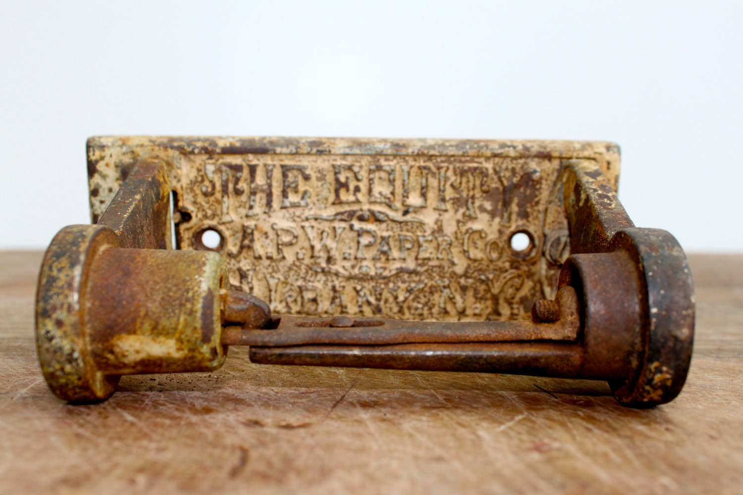 Antique Toilet Paper Holder By Vintagewall On Etsy